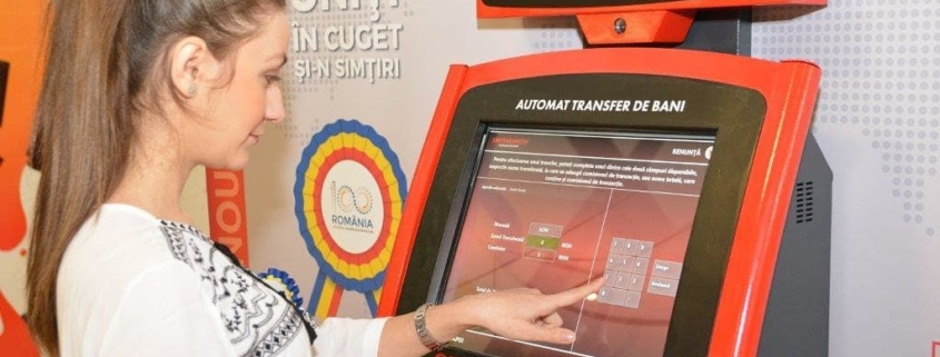 ATM de transfer de bani - Smith&Smith